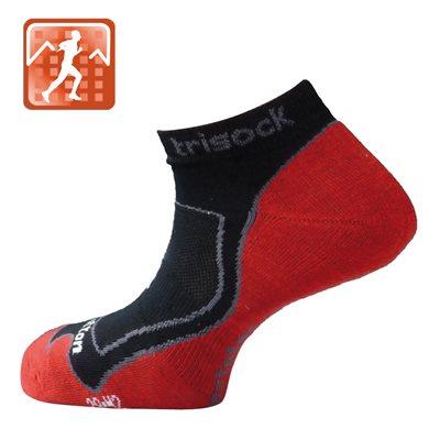 Trisock Running Socks Cotton / Nostatex Black Large (43-46)