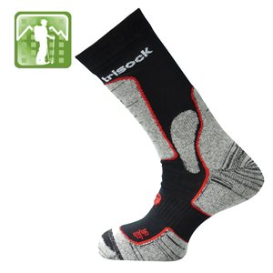 Trisock Trekking Socks Bio Cotton / Chitin Black Large(4346)