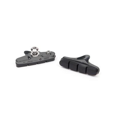 Road Rim Brake Pads 55mm with Aluminum cartridge for Shimano