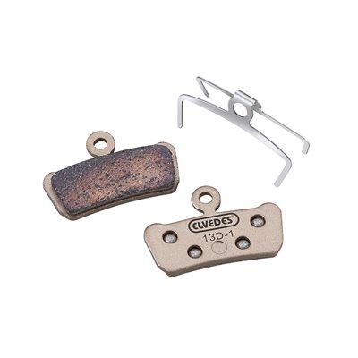 Sintered disc brake pads compatible Avid Sram