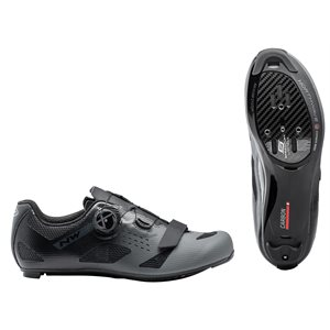 Northwave STORM CARBON Homme Route Chaussure Anthra / Noir 38