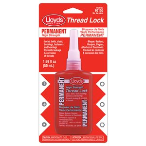 Threadlocker -Red High Strenght 50 mL bottle (1,60 oz)