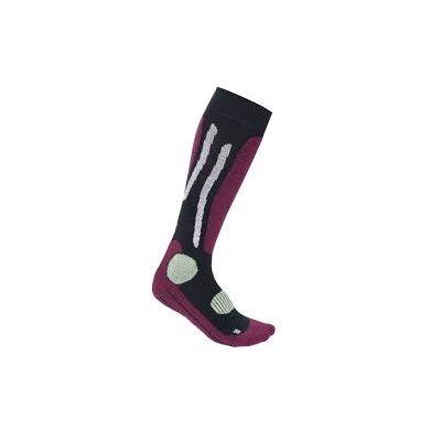 Aclima Alpine Socks Merino Redplum 32-35