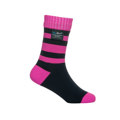Dexshell Children Waterproof Socks Bambou Pink Medium