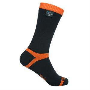 Dexshell Hytherm Pro Waterproof Socks Black / Tengelo Red Large