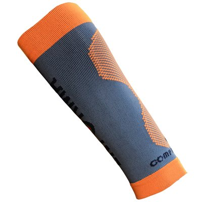 Enforma Compression Calf Grey / Orange Medium