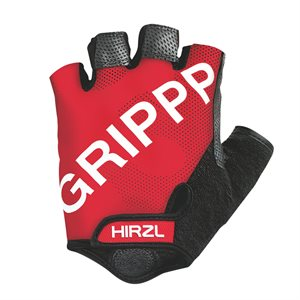 Hirzl Cycling Gloves Short Finger Black / Red Large (9)