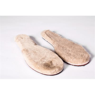Insoles Made From Genuine Sheepskin Children Size 3