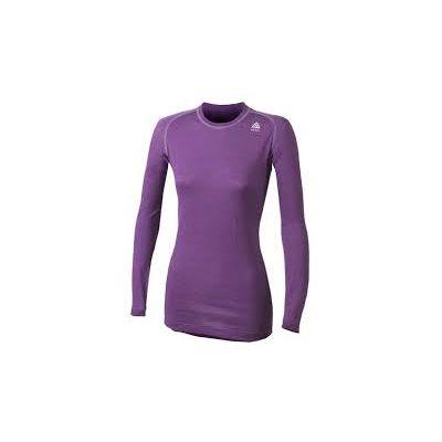 Lightwool Shrit Woman Patrician Purple Medium