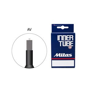 Mitas Regular Tube 18 x 1,50-2,10 Schrader valve 35mm wall thickness 0,9 mm