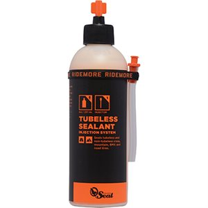 Orange Seal Cycling Tire sealant Refill 8 oz / 236 ml with Twist lock injection system