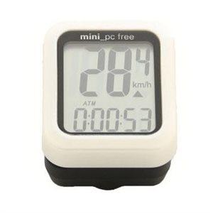 Cyclomètre Mini Free D'O'Synce Sans Fil Blanc