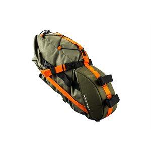Packman Travel Saddle Pack 420D / 600D 50 x 18 x 16cm 6L.