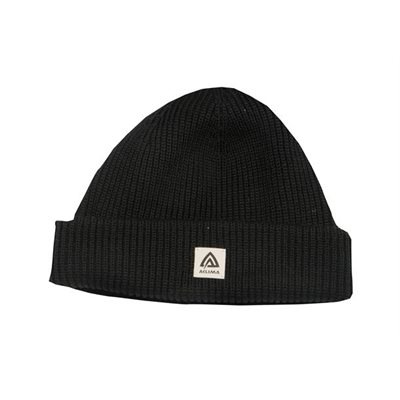 Aclima Forester Cap 100% Merino Wool Black