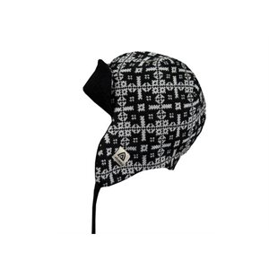 Hotwool Polar Cap Black And White Patterns Large