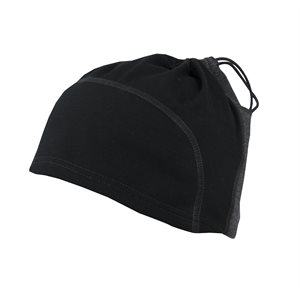 Bonnet Multi-Fonction Woolnet / Windstopper Noir / Marengo