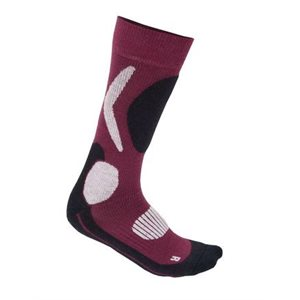 Aclima X-Country Socks Red Plum 40-43