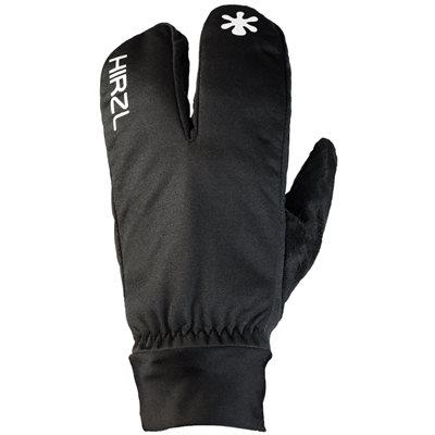 """Hirzl """"Finger Jacket"""" Cycling Gloves Black Large"""