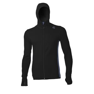 Hotwool Hoodies Jacket Man Black / Coastal Fjord Medium